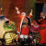 "La obra ""Santa Claus, un sueño de Navidad"" obsequió momentos divertidos al público infantil. FOTOs EDH / Lissette Monterrosa"