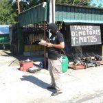 Un hombre fue asesinado dentro de un taller de Tejutla, Chalatenango. foto edh / lissette monterrosa