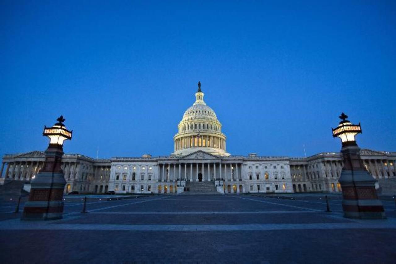 En el Capitolio hay divisiones por esta crisis. FOTO EDH / AGENCIAS