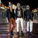 Rey Mercier, Danny Daniel, Jesús Antonio Ramón, integrantes de la agrupación venezolana Treo. Foto EDH /