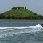 La Isla Conejo ha estado en disputa entre El Salvador y Honduras por estar en una zona estratégica del Golfo de Fonseca. FOTO EDH/Archivo