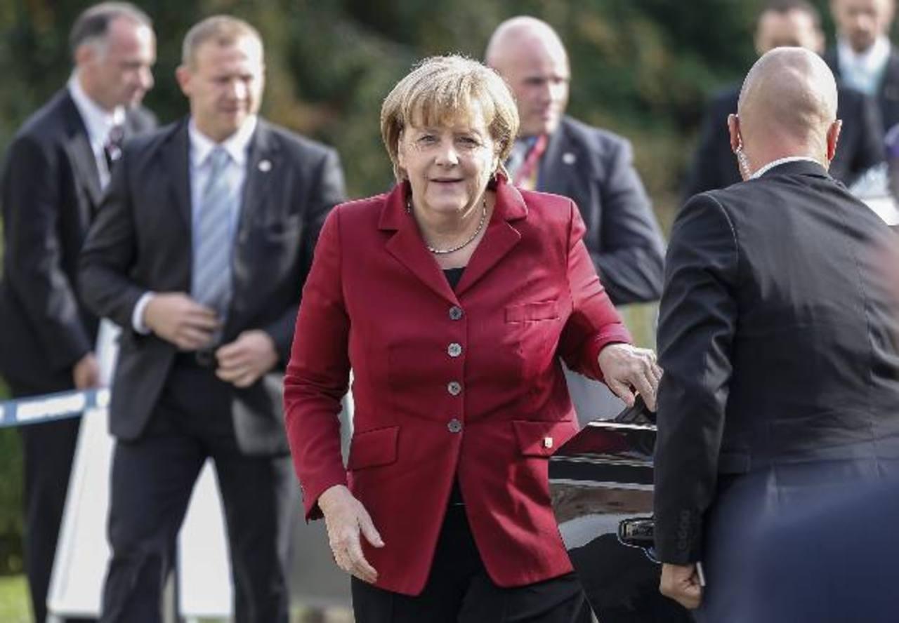 Angela Merkel ha sido una de las espiadas, según filtraciones de Snowden. foto edh /EFE