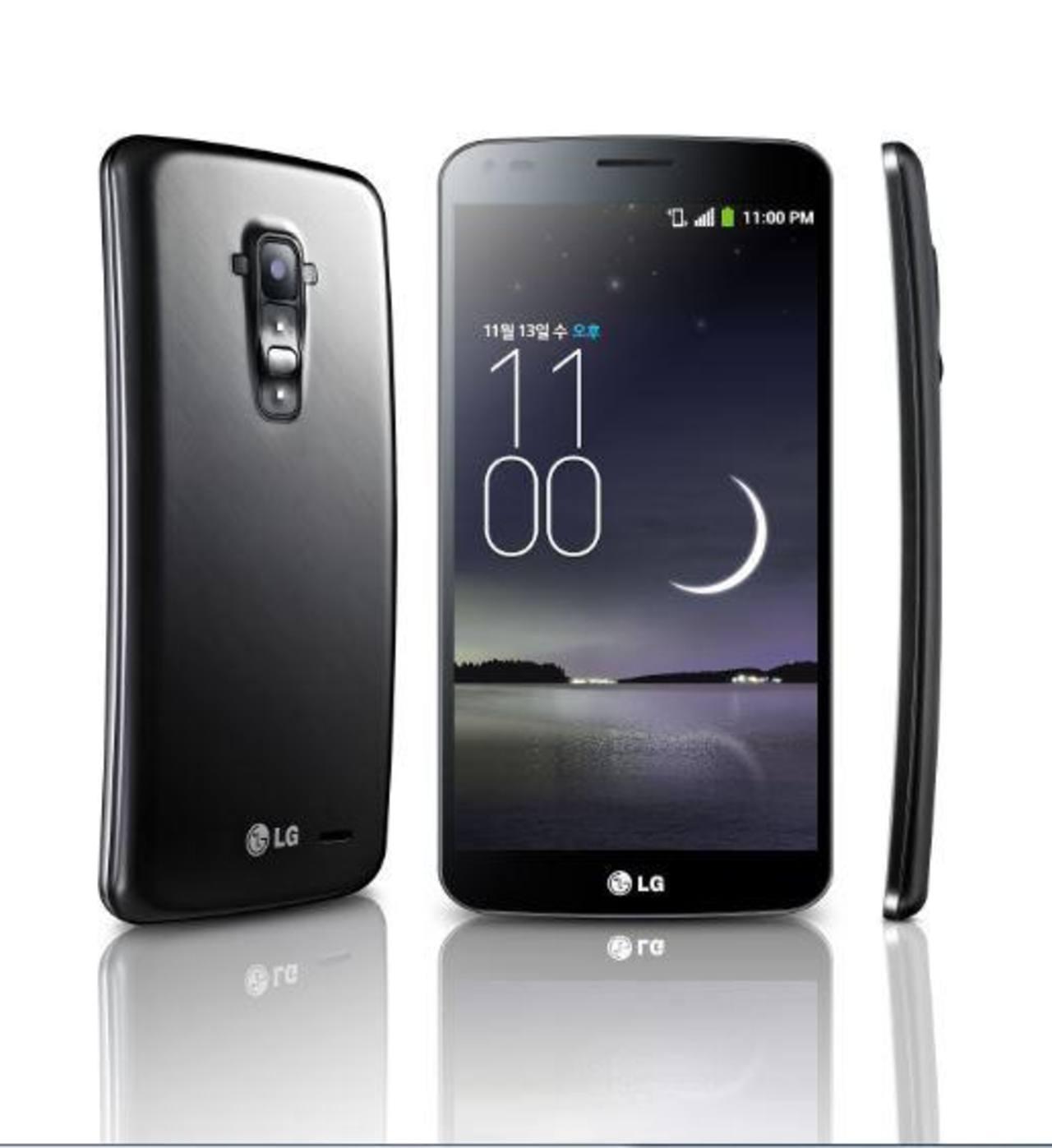 G Flex el nuevo smarthphone con pantalla curva de LG.
