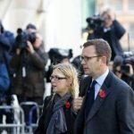 Clive Goodman, antiguo responsable de información de la realeza del periódico The News of the World, a su llegada al tribunal The Old Baley Court de Londres (Reino Unido). FOTO EDH