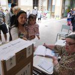 Unos 30.5 millones de argentinos estaban convocados para votar en los comicios, con los que renovarán la mitad de las bancas de la Cámara de Diputados y parte del Senado. foto edh / reuters