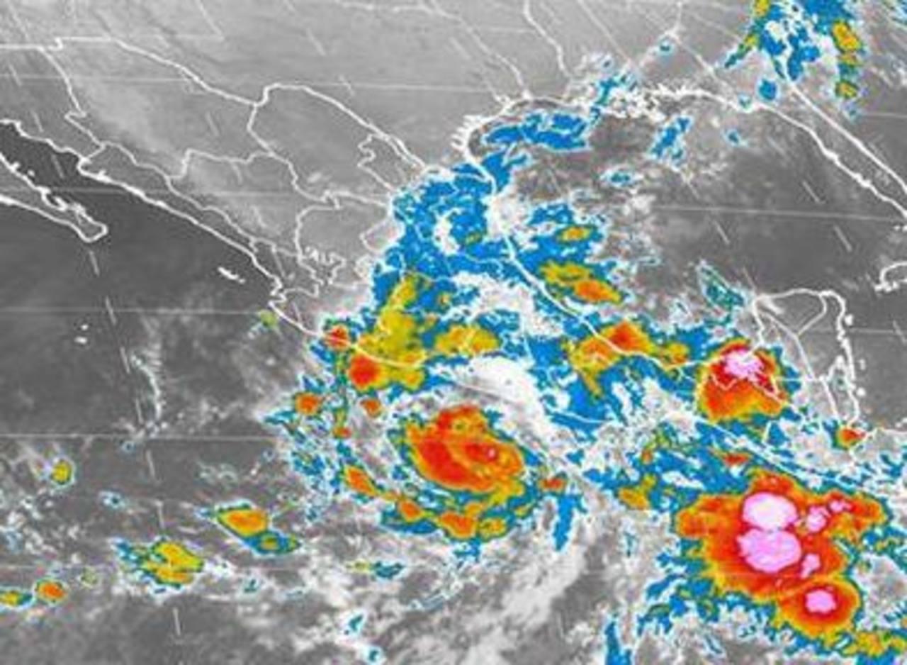 La tormenta tropical Raymond podría convertirse en huracán, según expertos. Foto/ Archivo