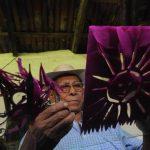 El maestro Manuel de Jesús pasasin dedicó más de 25 años al rescate, desarrollo y difusión de la cultura de su localidad. Foto/ Archivo