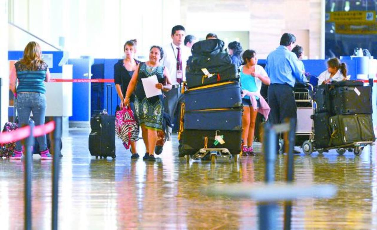 Los pasajeros en el aeropuerto aumentarán 31 % para 2014