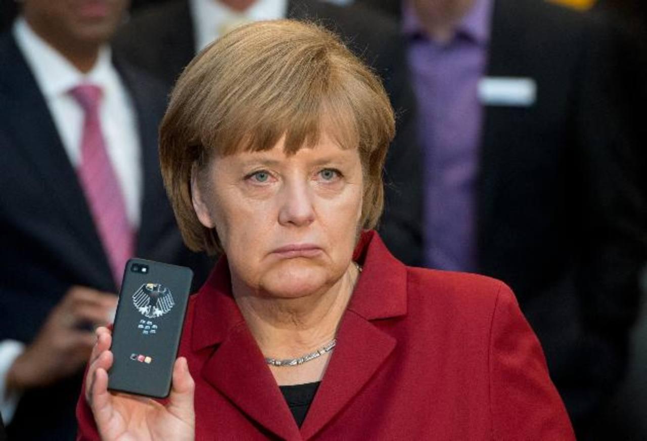 Angela Merkel le exigió a Obama que aclare si le pincharon su celular. foto edh /AP
