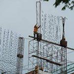 La construcción es de las afectadas por poca inversión. EDH/