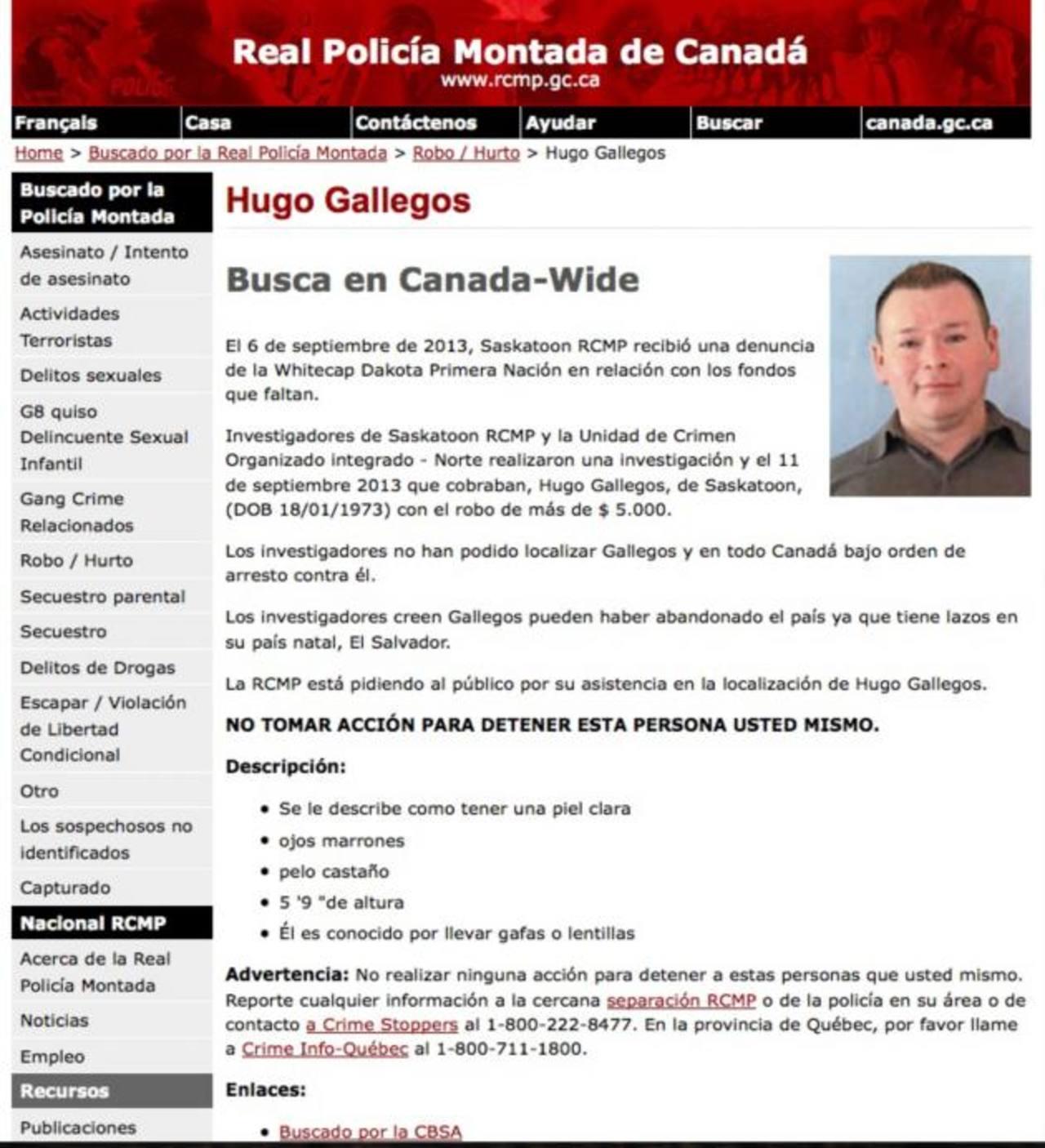 Buscan por robo a hermano de diputado salvadoreño