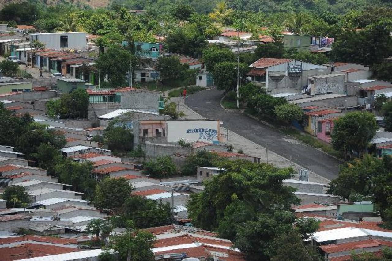 Montelimar es una zona con mucha presencia de pandillas y poca presencia policial, según constato EDH. Foto EDH / Archivo