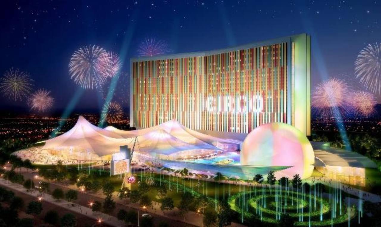 Así luciría uno de los principales hoteles que serían construidos en Eurovegas. foto edh / archivoSheldon Adelson observa una de las maquetas del proyecto Eurovegas en Madrid. foto edh / archivo