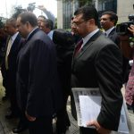 La demanda del expresidente Antonio Saca pasó al Tribunal 5o. de Sentencia, pero fue unida a otra demanda en el Tribunal 6o. de Sentencia. FOTO EDH Archivo.