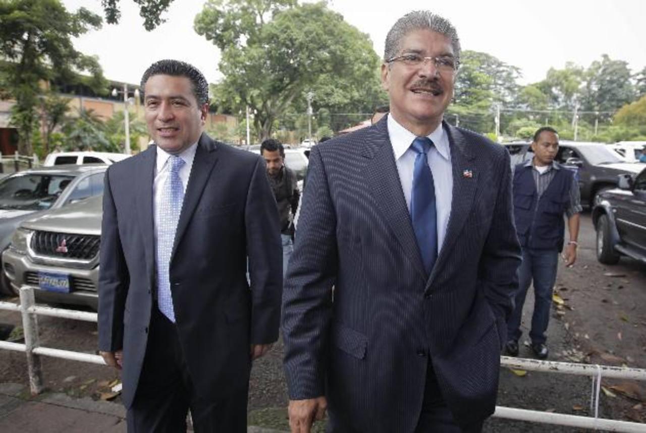 El abogado Benjamín Cestoni dijo que la fórmula presidencial de ARENA puede inscribirse ante el Tribunal Supremo Electoral (TSE). Foto/ Archivo