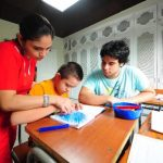 Con esta muestra las niñas y niños de la fundación tienen la oportunidad de mostrar su talento en las artes. Foto Edh