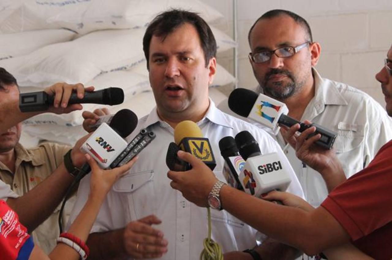El ministro para la Agricultura y Tierras, Yván Gil, explicó que el desempleo en el campo no existe. foto edh / internet