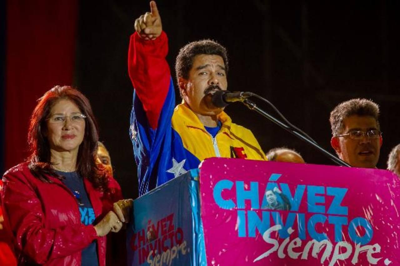"""Nicolás Maduro anunció el jueves por la noche la creación del nuevo viceministerio, cuyo nombre se lo puso en """"honor"""" a su antecesor, Hugo Chávez, según explicó en el acto oficial. Foto edh / archivo"""