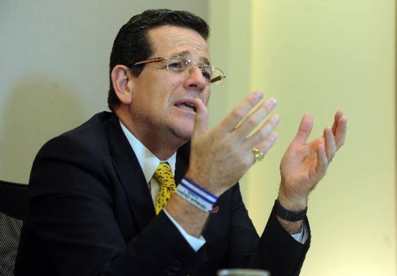 El presidente del Coena, Jorge Velado. Foto/ Archivo