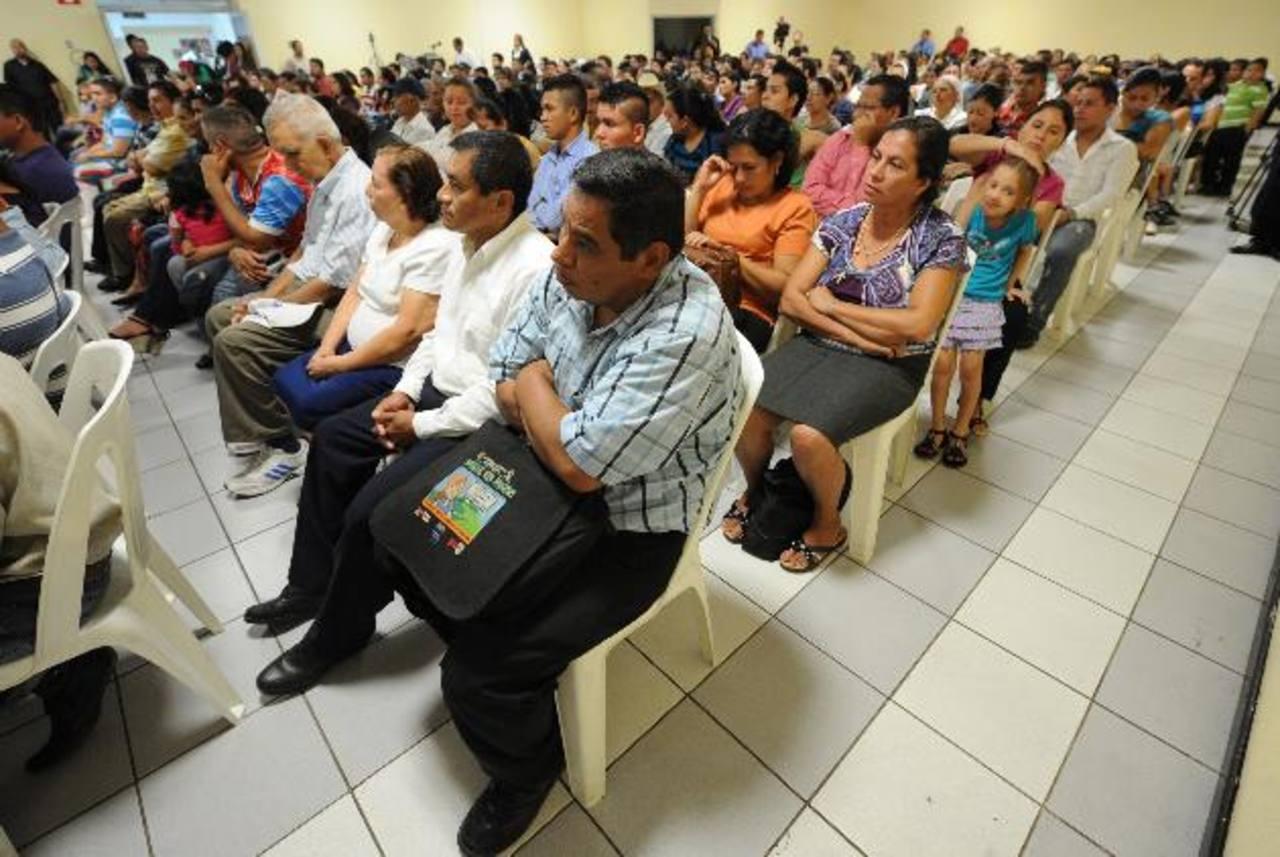 Los beneficiarios esperaron hasta tres meses por las indemnizaciones. FOTO EDH / CLAUDIA CASTILLO
