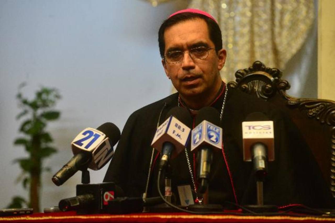 Arzobispo de San Salvador Monseñor José Luis Escobar Alas. FOTO EDH