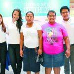 Representantes de Techo y las comunidades durante el lanzamiento de la campaña anual. foto edh / CORTESÍA