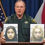 La implicadas Guadalupe Shaw (i) y Katelyn Roman (d), de 12 y 14 años, respectivamente. foto edh / internet