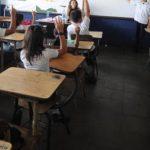 Cuatro estudiantes de octavo grado del Centro Escolar Rubén Darío, de Santo Tomás, escaparon de sus casas ayer aparentemente por rebeldía.