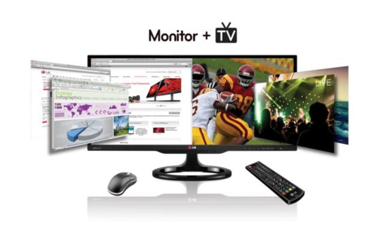 El modelo 29MA73 viene con un sintonizador de TV y la nueva función View picture-in-picture.