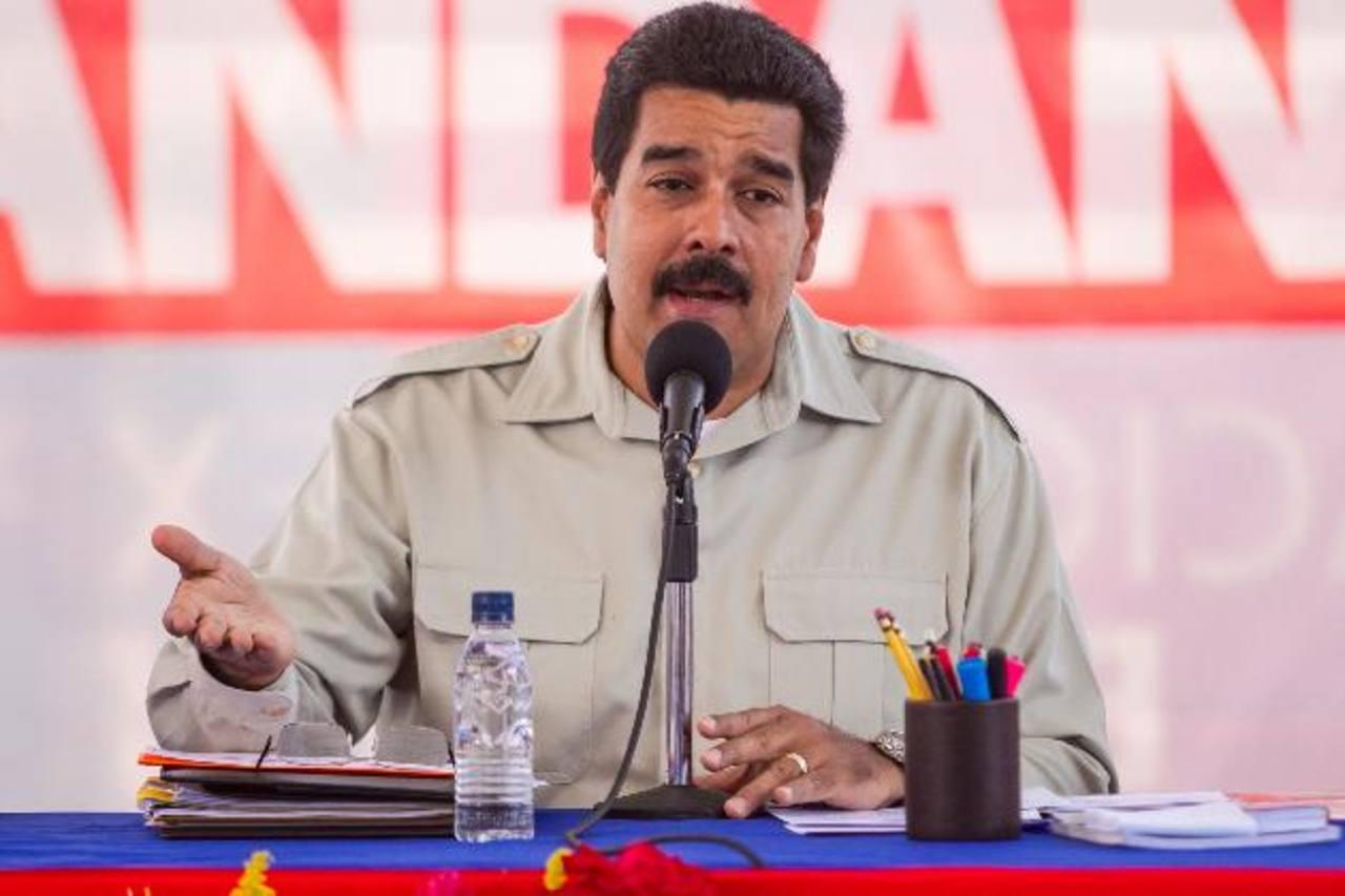 El gobernante Nicolás Maduro expulsó a tres diplomáticos de EE. UU. y les dio 48 horas para que salieran del país. foto edh / archivo
