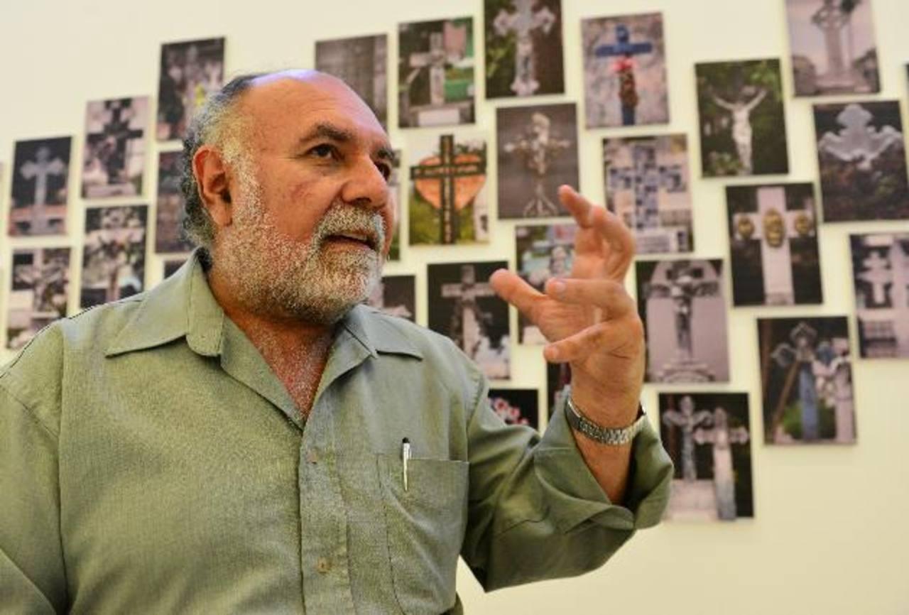 German Cáceres es el director de la Orquesta Sinfónica de El Salvador y estará este día en el Marte. Foto Edh / césar avilés