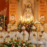 La Conferencia Episcopal estuvo presente en la misa concelebrada en honor a la Reina de la Paz, patrona de El Salvador. foto edh / carlos segovia
