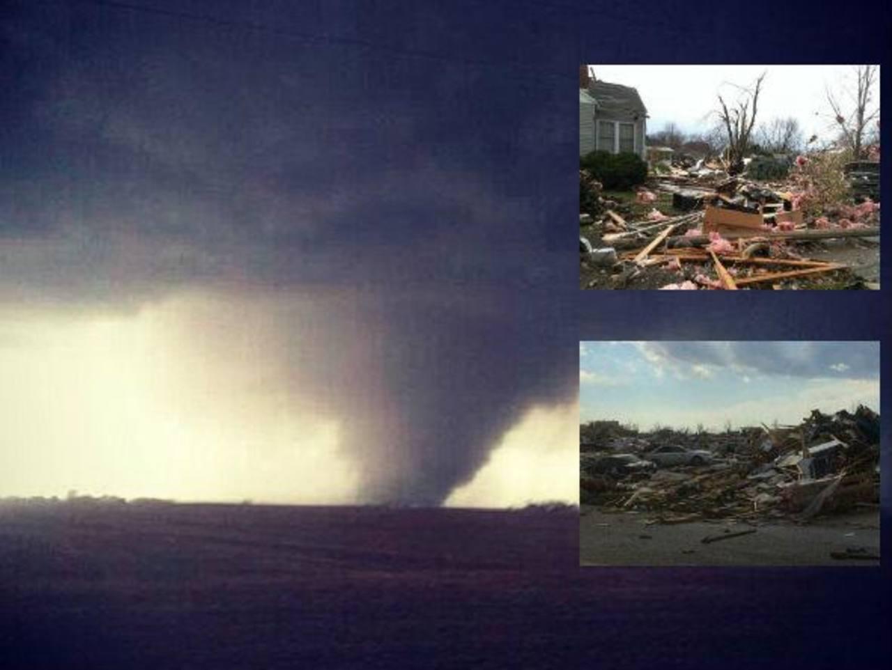 Potente tornado deja severos daños en Illinois, EE.UU.