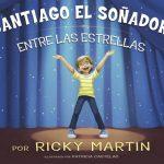 """La portada del libro para niños """"Santiago el soñador. Entre las Estrellas"""". Foto/ AP"""