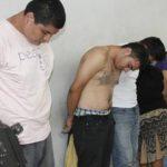 Según la PNC, los seis detenidos son miembros de la mara Salvatrucha, en San Miguel.