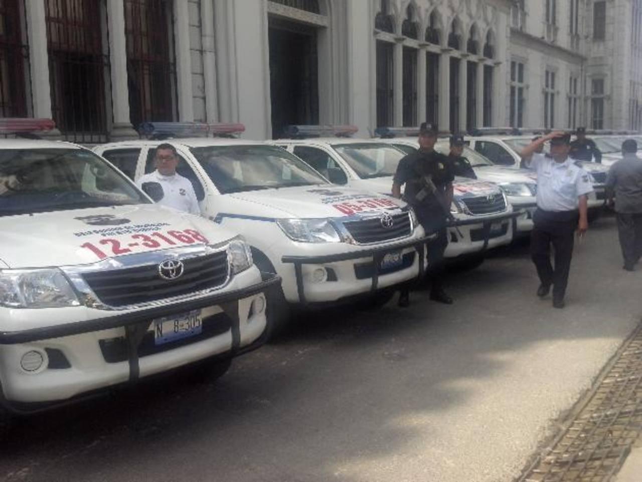Los nuevos vehículos están equipados con GPS y otros recursos oportunos de comunicación. Foto EDH