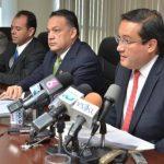 El fiscal general, Luis Martínez, negó que se trate de una persecución política.. FOTO EDH/Archivo