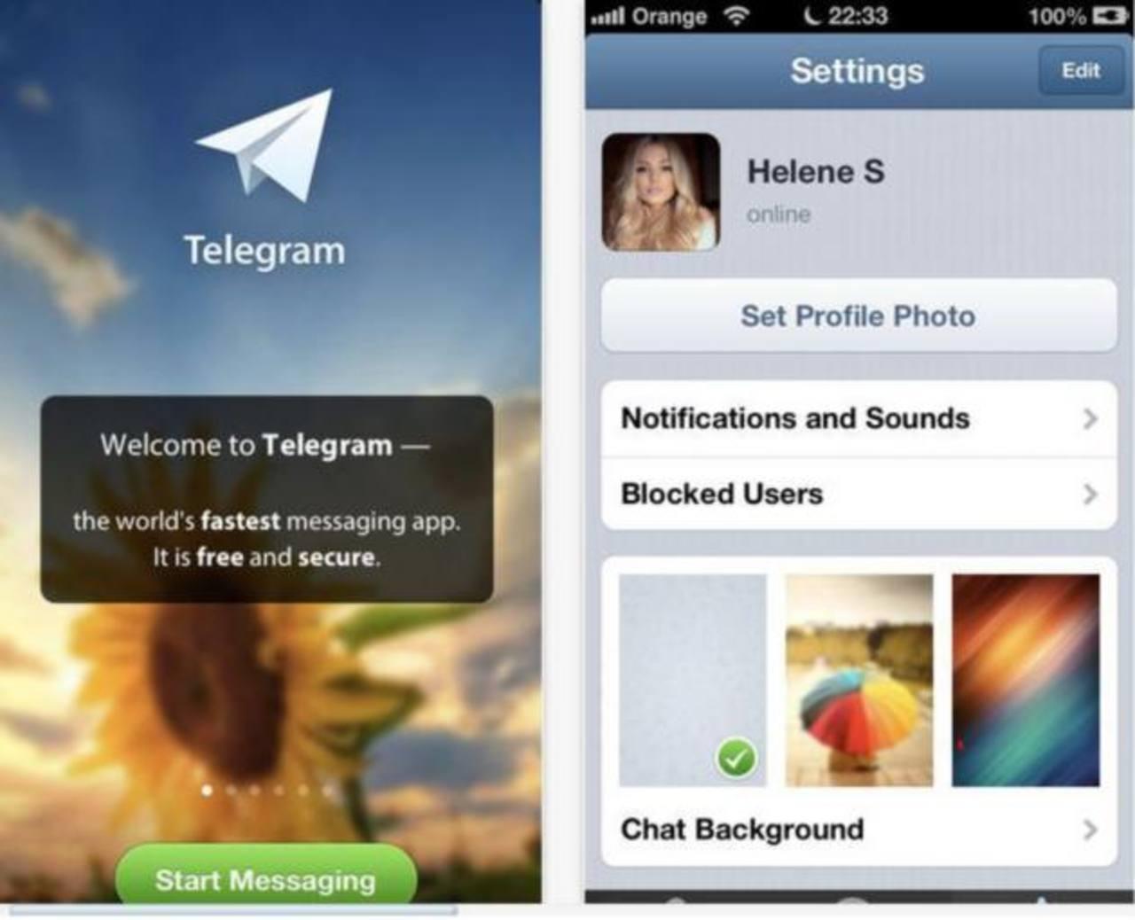 La aplicación Telegram busca competir con WhatsApp