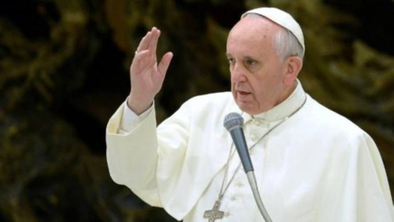 El Papa Francisco durante la homilía de la tradicional misa en la Casa Santa Marta.