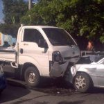 Vapulean a causante de accidente en Soyapango