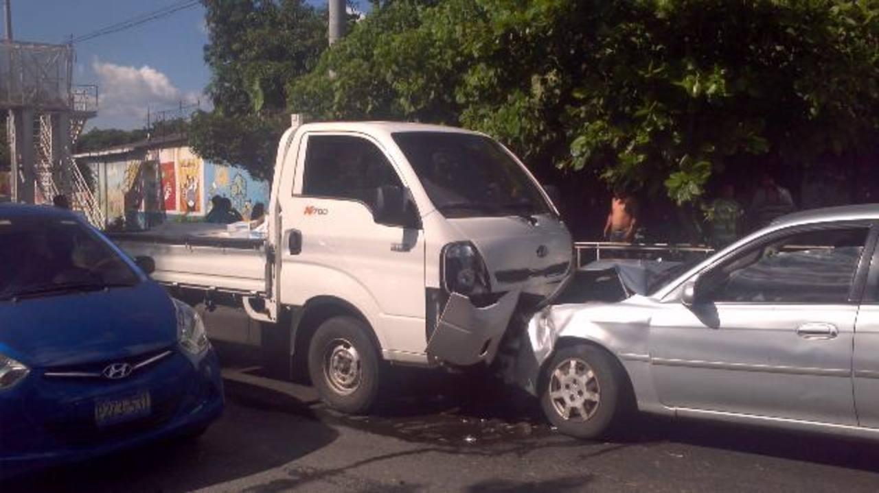 Vapulean a causante de accidente en Soyapango