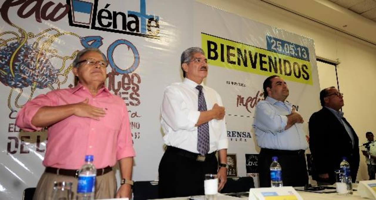 Los candidatos a la presidencia y vicepresidencia de la República son los protagonistas de este proyecto. fotos EDH/ archivo