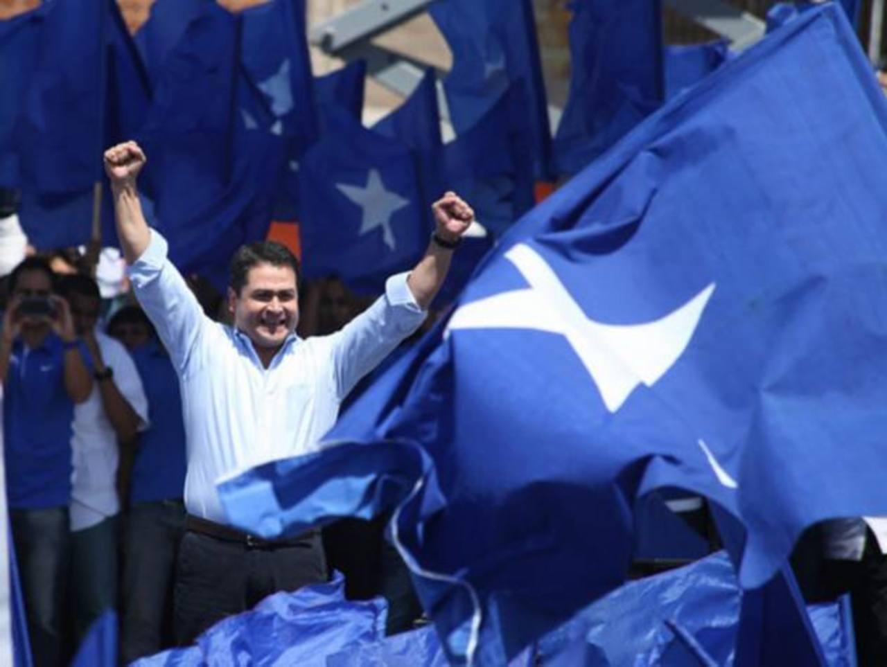 Juan Orlando Hernández fue declarado el pasado miércoles como ganador de la elección presidencial de Honduras. foto edh / internet