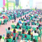 El evento atrajo a cientos de universitarios de occidente.