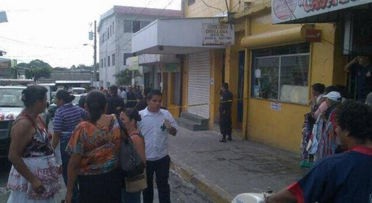 Asesinan a comerciante de cereales en Mejicanos