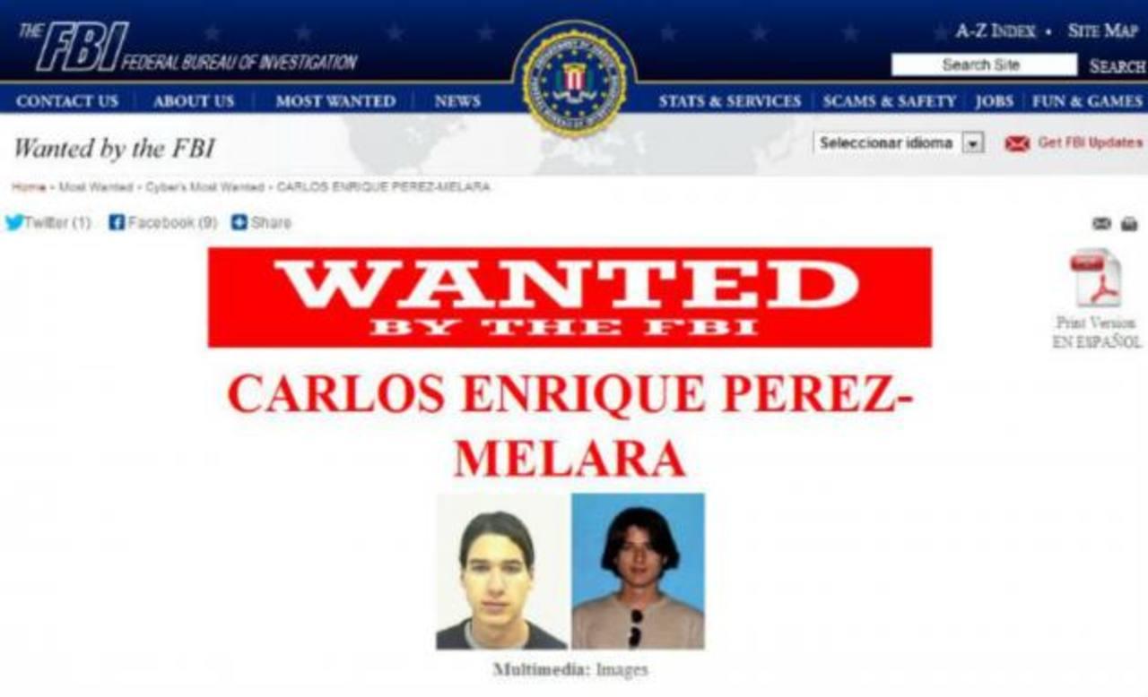 FBI busca a salvadoreño que desarrolló programa utilizado para espiar parejas infieles