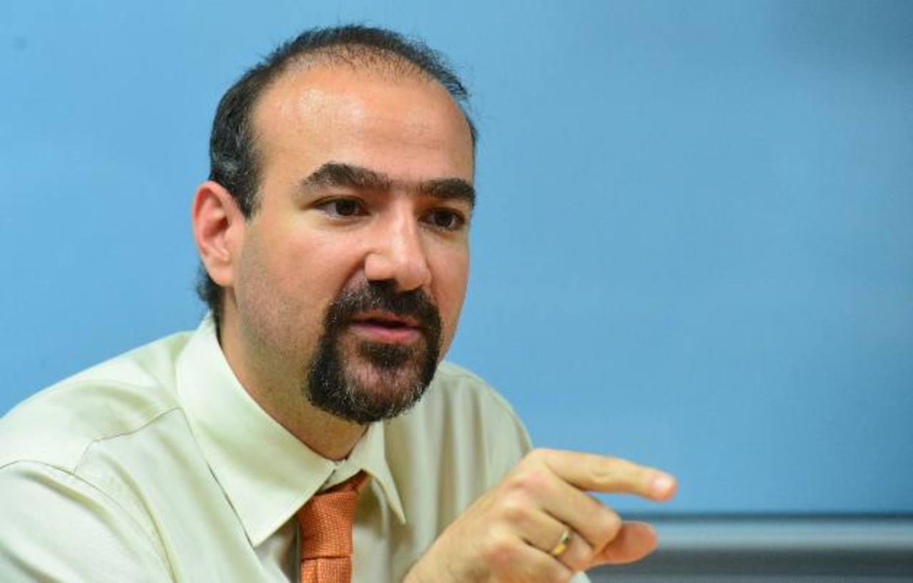 """Gerardo Muyshondt está detrás de """"El Salvador: archivos perdidos del conflicto"""". Foto EDH / Omar Carbonero."""