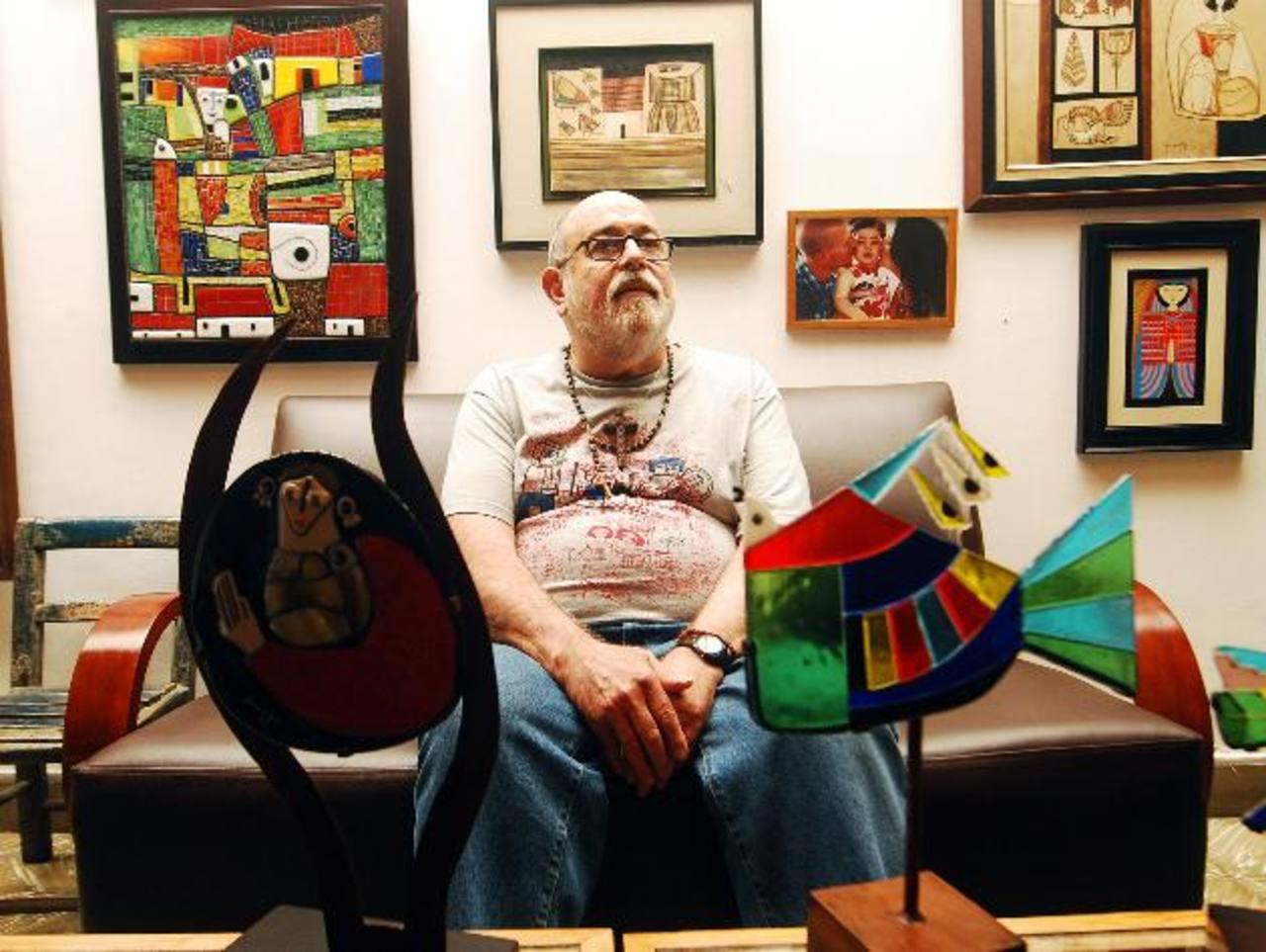 El artista Fernando Llort, ganador del Premio Nacional de Cultura 2013. Foto/ Archivo