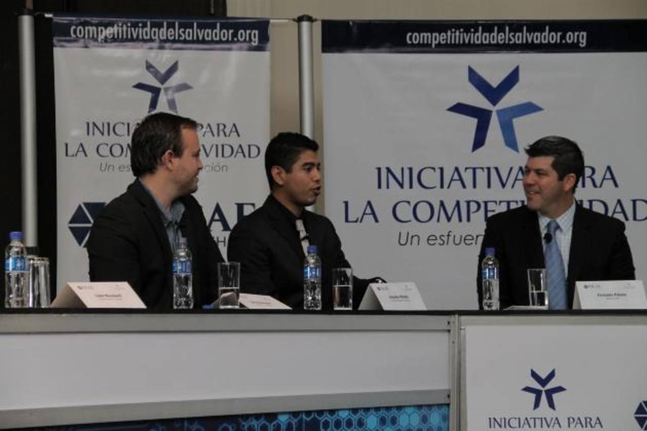 """Salvadoreños exitosos compartieron ayer sus experiencias durante el foro """"El Salvador sí puede competir"""" organizado por la Iniciativa para la Competitividad e Incae. foto edh / cortesia"""