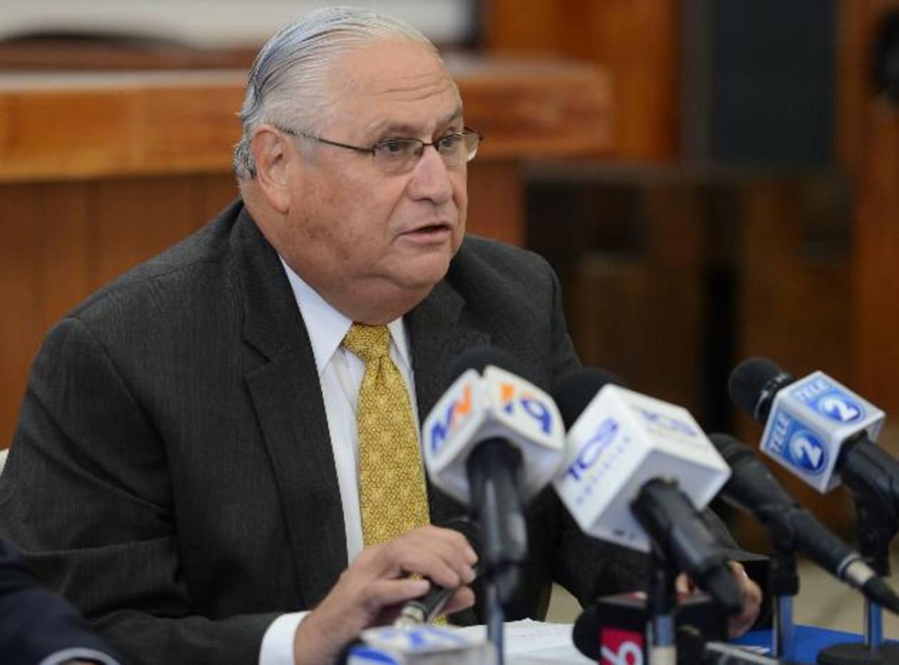 Armando Calderón Sol lamentó ayer las declaraciones del presidente Funes. Foto EDH / Mauricio Cáceres